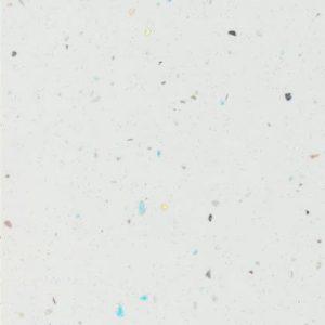 Metalic fehér magas fényű munkalap F 010