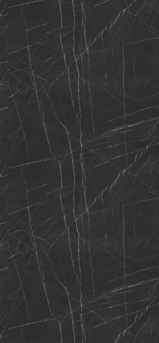 Magasfényű Fekete Pietra Grigia MDF bútorlap F206 PG táblakép